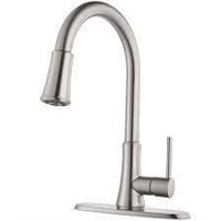 PFIRST PULL DOWN KITCHEN FAUCET