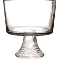 ANCHOR HOCKING MONACO GLASS TRIFLE BOWL 22.5CM