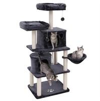 FEANDREA MULTI LEVEL CAT TREE TOWERS W/ TWO CONDOS