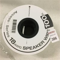 18 AWG SPEAKER WIRE 100FT