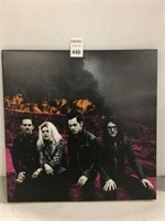 THE DEAD WEATHER DODGE AND BURN RECORD ALBUM