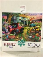 COUNTRY LIFE QUILT FARM 1000 PIECE PUZZLE