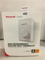 HONEYWELL NON PROGRAMMABLE ELECTRIC HEAT