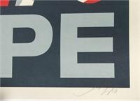 "Shepard Fairey ""Hope"" 2008 Offset Lithograph"