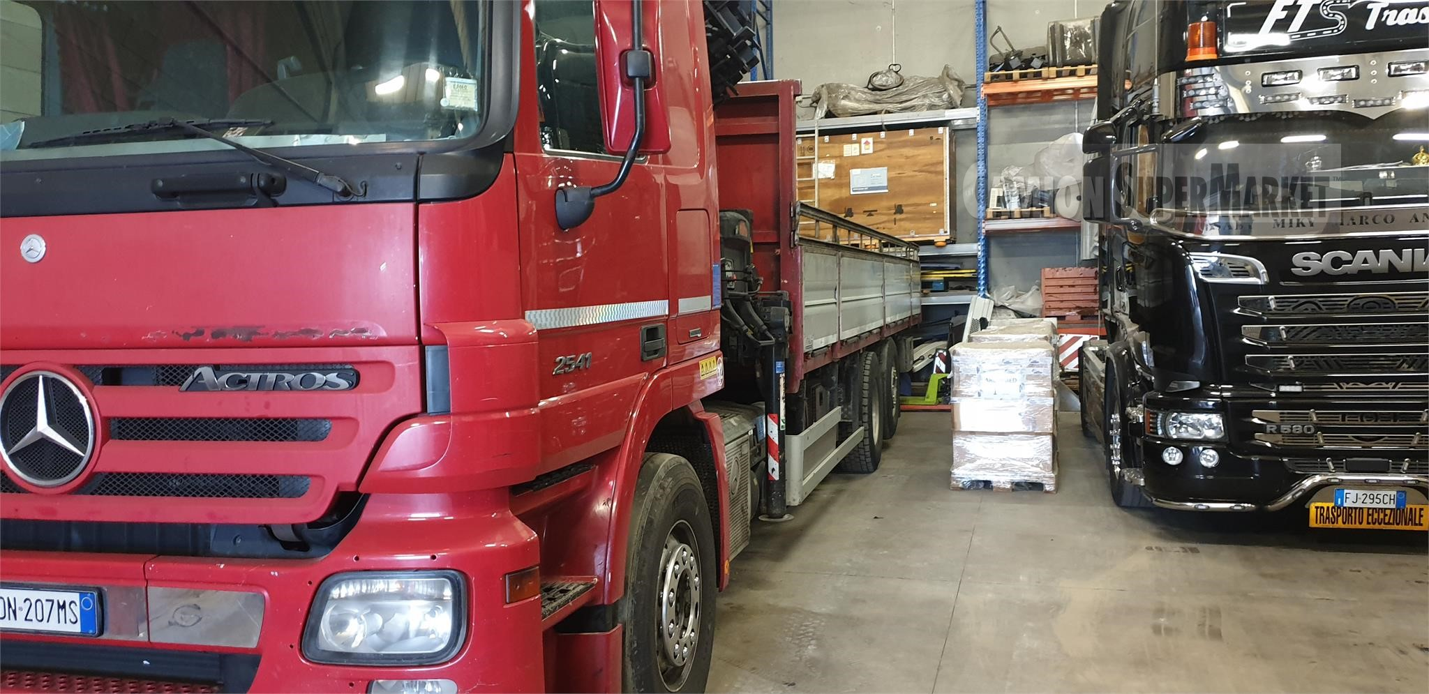 Mercedes-Benz ACTROS 2541 used 2008