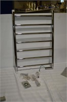Chrome Hard Wired Heated Towel Bar