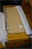 Homestyles Wood Top Kitchen Cart