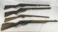 4 Vintage Air Rifles