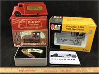Texaco, Slik-Toy, Caterpillar Tractor, Knife