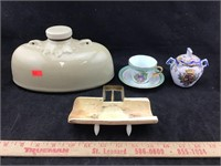 Stoneware Hot Water, Imperial Cup & Saucer, Etc