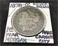 1878-Carson City Morgan Silver Dollar