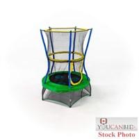 Mini Trampoline with Enclosure