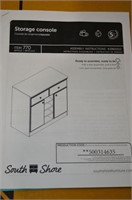 South Shore Furniture Storage Console