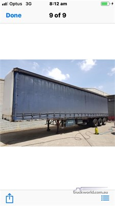 1998 Freighter 22 Pallet Curtainsider - Trailers for Sale