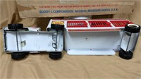 Buddy L Circus Truck & Trailer Set