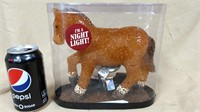 """Red Shed Toys"". Eva horse lamp. night light"