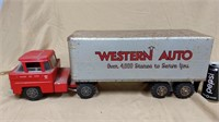 Lumar Western Auto Store Marx truck and trailer