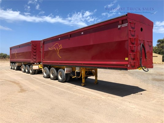 2014 Howard Porter Tipper Trailer Midwest Truck Sales - Trailers for Sale