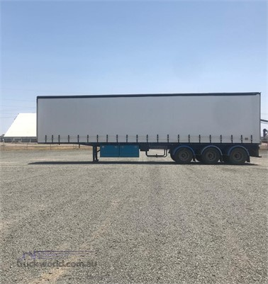 2000 Maxitrans 45FT Curtainsider Flat Top - Trailers for Sale