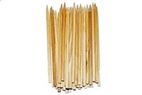 Perfect Stix Pointed Wooden Semi-point Skewers