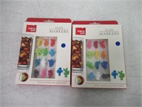 (2) Vacu Vin Glass Markers