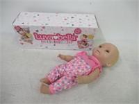 Luvabella Newborn, Blonde Hair, Interactive Baby