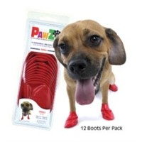 PawZ Small Slip Ons - Red