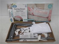 Regalo Swing Down Bed Rail Guard, with Reinforced