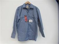 Dickies Men's Medium Long Sleeve Work Shirt, Gulf