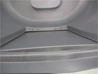 """As Is"" Van Ness Corner Enclosed Cat Pan, Silver,"