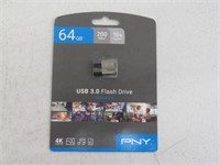 PNY Elite-X Fit 64GB USB 3.0 Flash Drive - Read