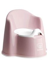 BABYBJÖRN Potty Chair, Powder Pink/White