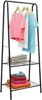 Homebi Garment Rack Metal Clothing Rack Wardrobe
