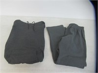 Lot of (2) Hanes Men's Large Pullover Ecosmart