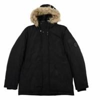 Calvin Klein Men's XL Snorkel Jacket with Faux-Fur