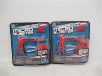 (2) Hog Wild Micro Blaster Rubber Band Shooter
