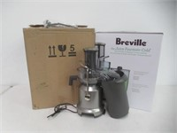 """""""As is"""" Breville L.P. BJE430SIL The Juice Fountain"""