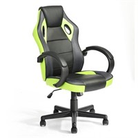 FurnitureR Racing Style Leather Gaming Chair