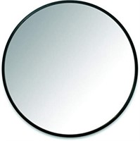 Umbra Hub Wall Mirror With Rubber Frame - 37-Inch