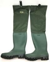 Pro Line Pvc Hip Boot 71301x Green Size 9