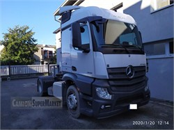 MERCEDES-BENZ ACTROS 1846  used