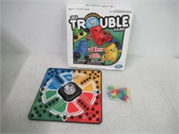 """""""As Is"""" Hasbro Pop-O-Matic Trouble Game"""