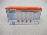 Sylvania 60W LED Bright White - 4 Pack