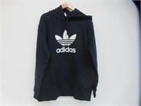 Adidas Men's XL Trefoil Hoodie, Navy