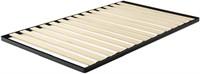 """""""As Is"""" Zinus Deepak Easy Assembly Wood Slat 1.6"""