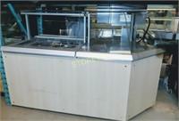 QBD refrigerated Slad Table - 78 x 42 x 52
