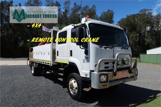 2014 Isuzu FTS 800 4x4 Midcoast Trucks  - Trucks for Sale