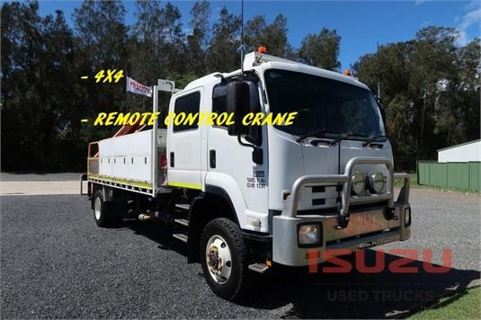2014 Isuzu FTS 800 4x4 Used Isuzu Trucks - Trucks for Sale