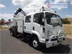 2013 Isuzu FRR Crane Truck
