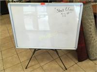 White Board w/ Stand - 44 x 32